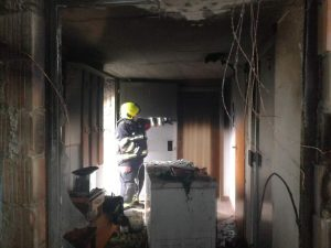 Požar dvorišnog objekta